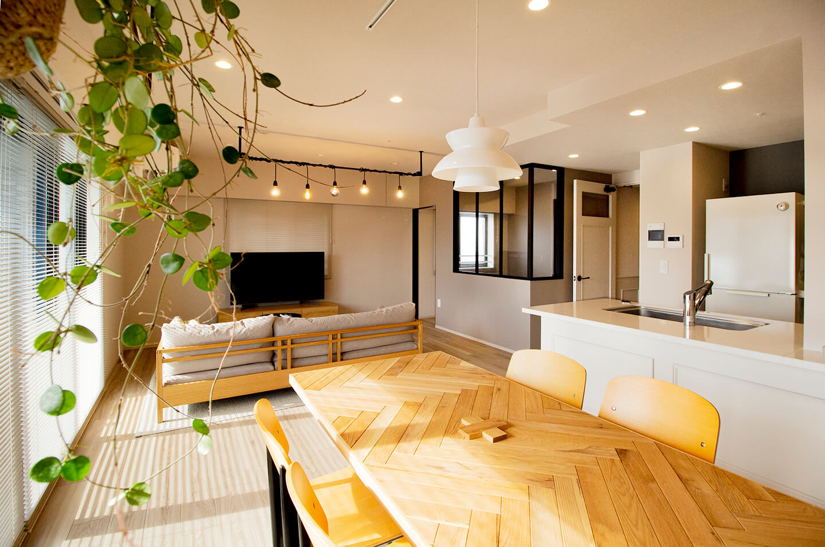 洗練されたシンプルモダンな空間 / 大阪府大阪市T様邸