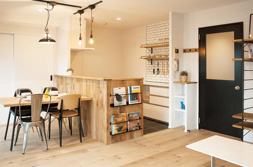無垢と白のやわらかな空間 / 兵庫県神戸市 S様邸