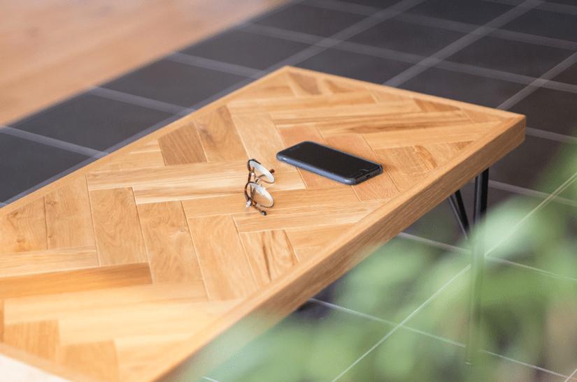 ヘリンボーンローテーブル /order furniture