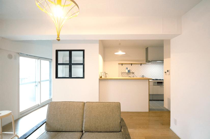 限られた空間で快適な暮らし。/大阪府豊中市K様邸
